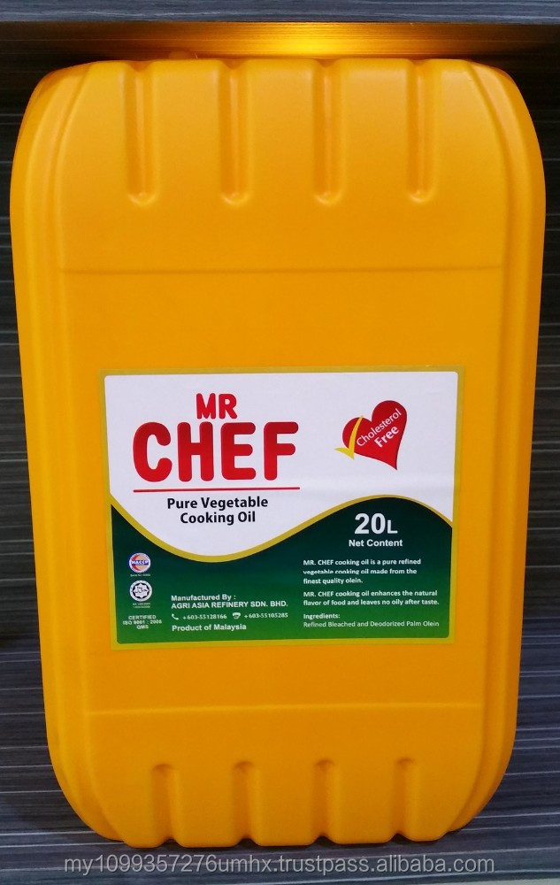 Rbd Palm Olein Cp10 / Iv56 In Jerrycan