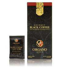 Organo Gold Gourmet Black Instant Coffee with Ganoderma, Organic Lingzhi Reishi Slim Detox Diabetes Immune High Blood Sciatica