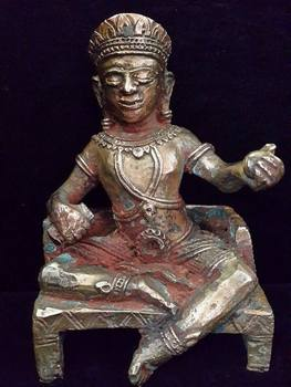 Antique Hindu Statue Called Narai