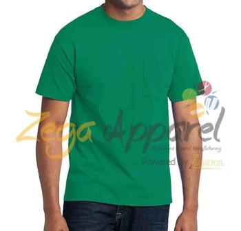 Zega apparel mens cotton t shirt short sleeve long line for Long line short sleeve t shirt