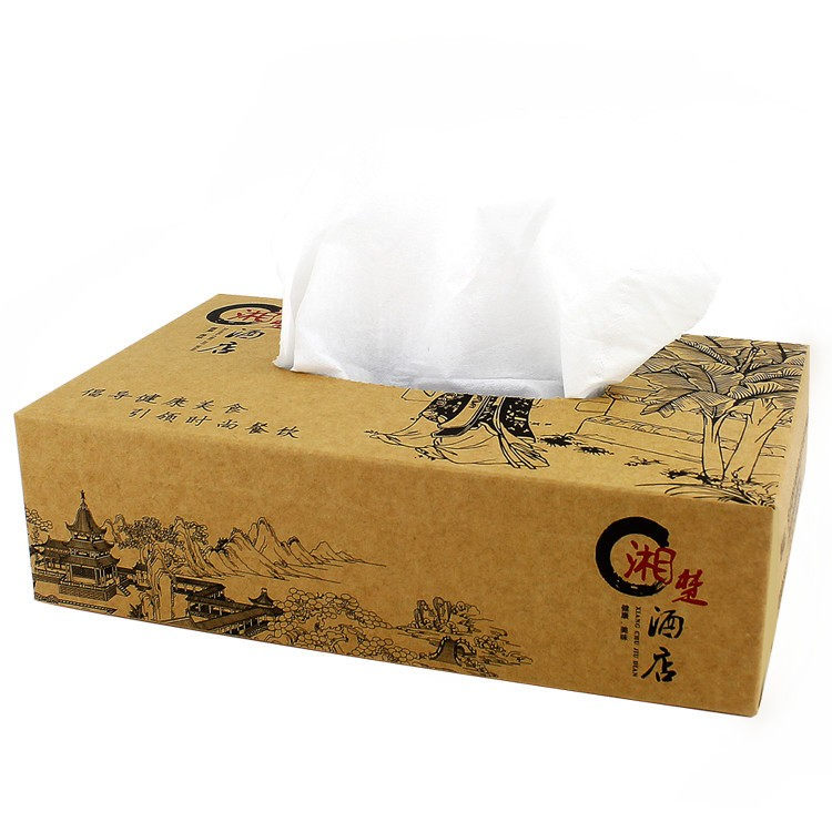 Commercial Facial Tissue with Box