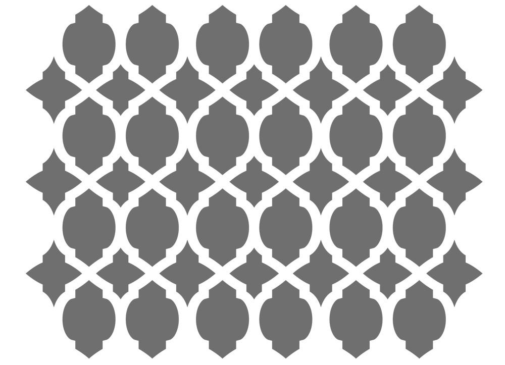 Wandschablone,Marokkanischen Schablonen Vorlage 14,8 \