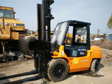 second hand totota 5 ton forklift in good condition for sale