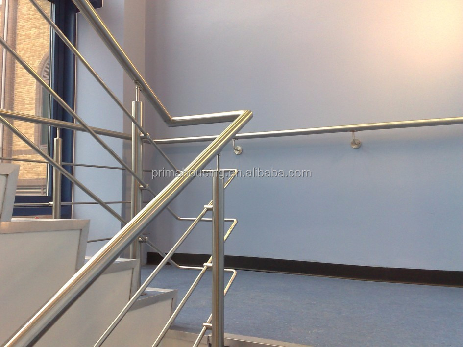 Stainless steel rod railing systems
