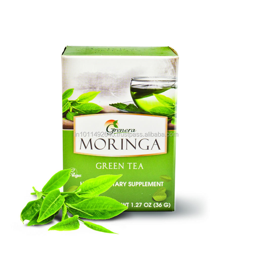 HALAL Certified Moringa Green Tea Flavor/Pure Herbal Tea Suppliers
