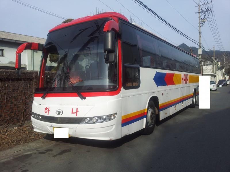 2005y Korean Daewoo Used Bus Bh120 From Korea - Buy Daewoo Used Bus