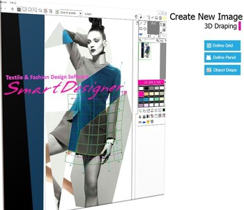 Fashion textile design software 96