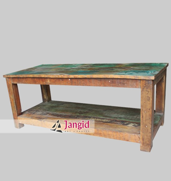 Rustic Vintage Reclaimed Wood Furniture India