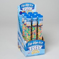 FLA-VOR-ICE TAFFY CHEWY BITES 2.3 OZ TUBES IN 12 CT PDQ #62507