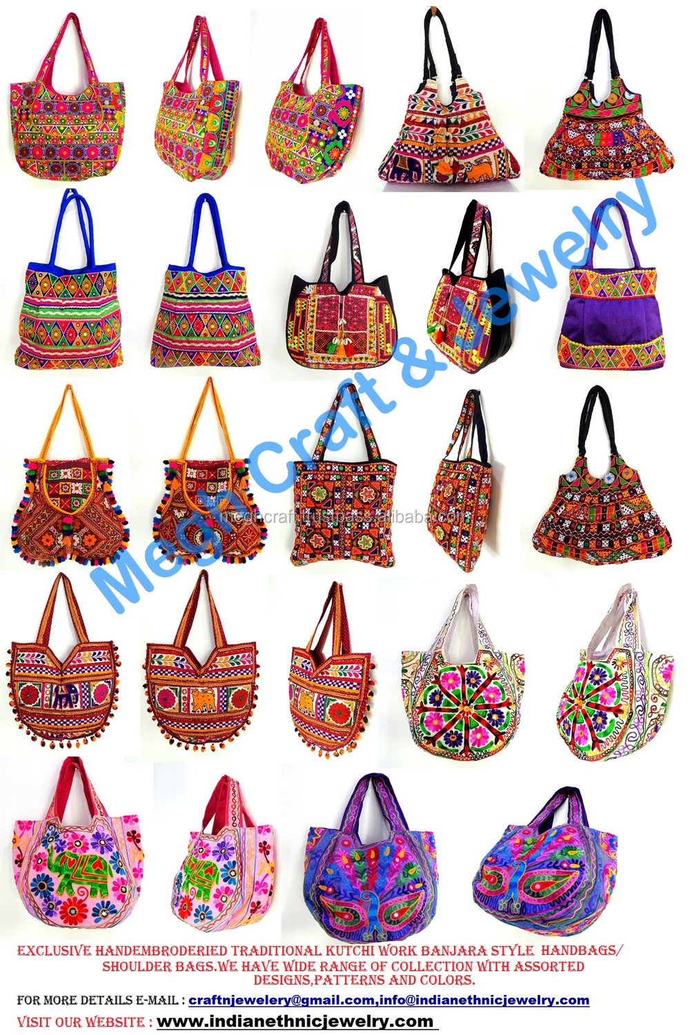 Indian ethnic wholesale handmade embroidery work for Home decor stuff online
