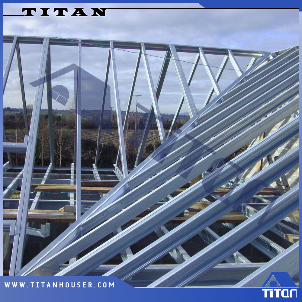 Light Gauge Steel Pitched Gable Roof Truss Buy Roof