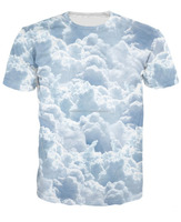 Sublimation Printing T Shirts Real Rainy Weather Design Sublimation T Shirts / Custom Design Sublimation Printed T Shirts