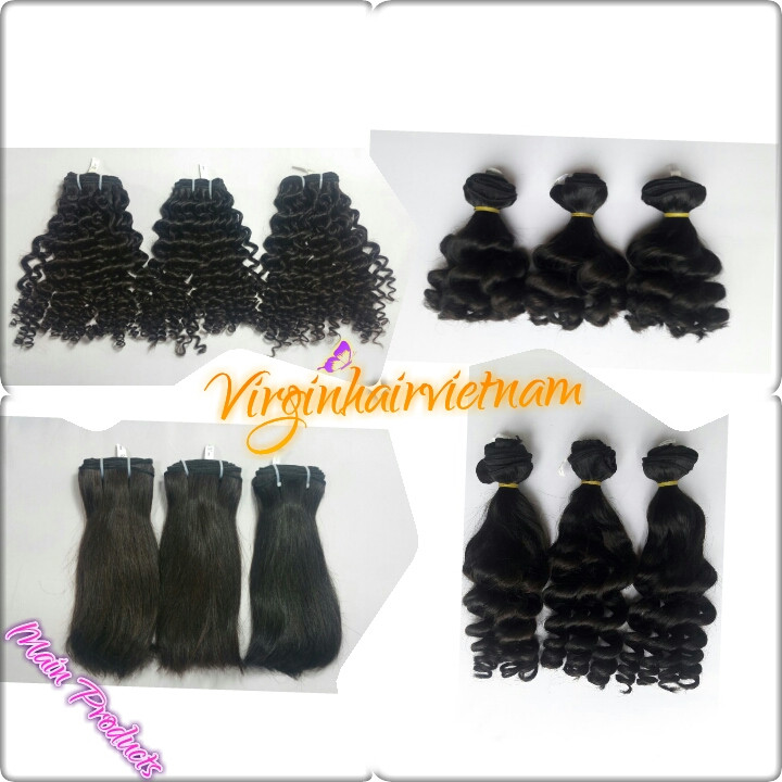 2016 Big Sale Curly Straight Funmi Double Drawn Hair Extensions With Cheap Price 100% Raw Hair