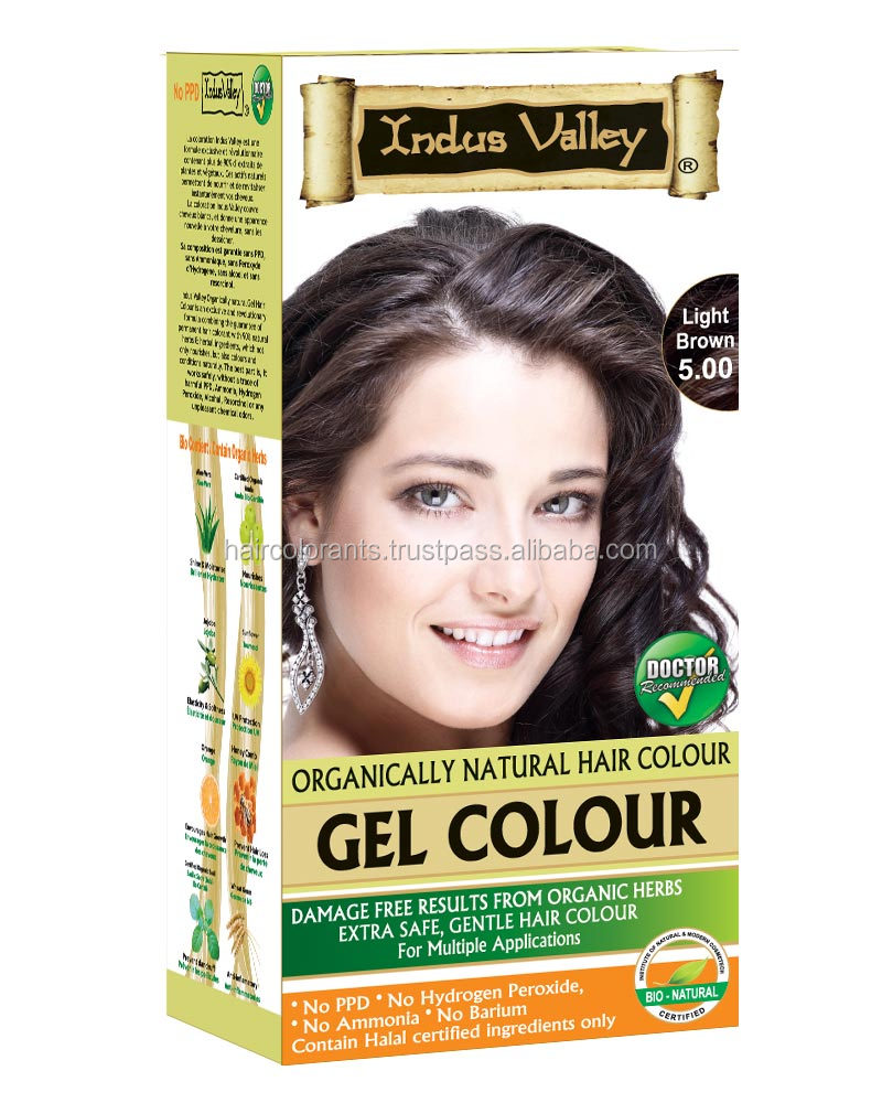 Indus Valley 100 Chemical Free Organic Copper Henna Hair Color For