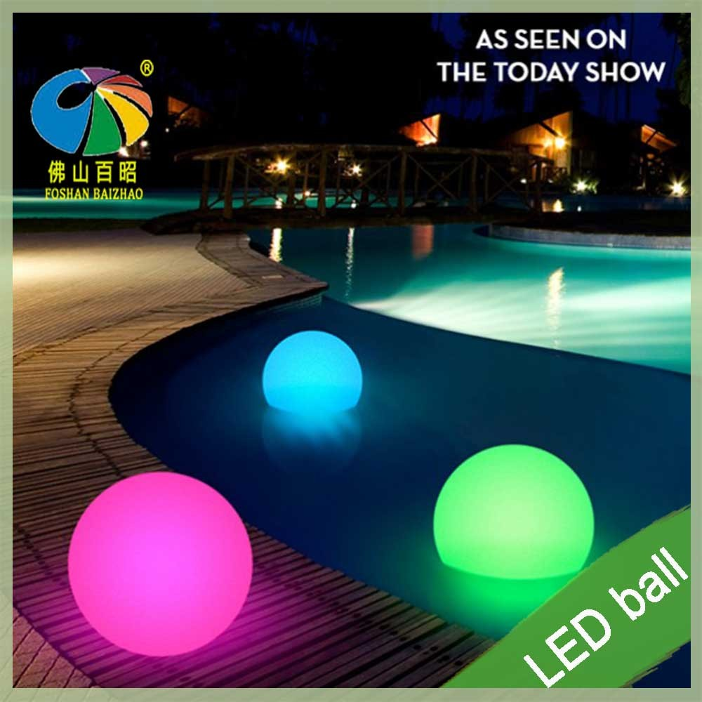 LED Globe Ball Light Modern Waterproopf Floating LED Globes