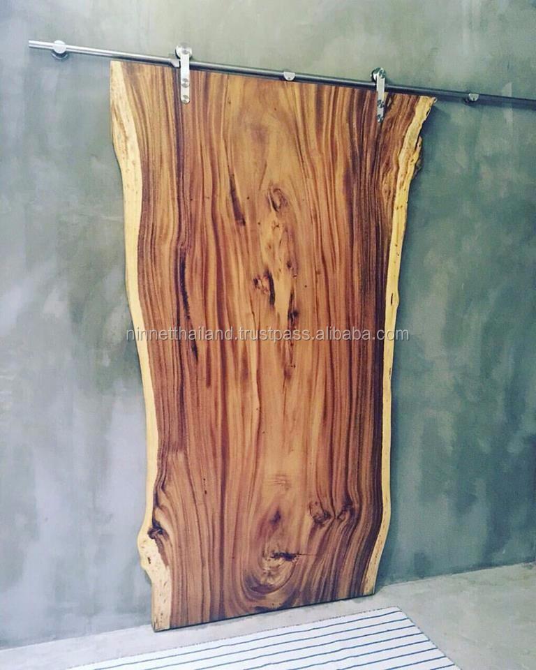 Dining Table Live Edge Wood Slab , Acacia Wood , Monkey Pod Wood