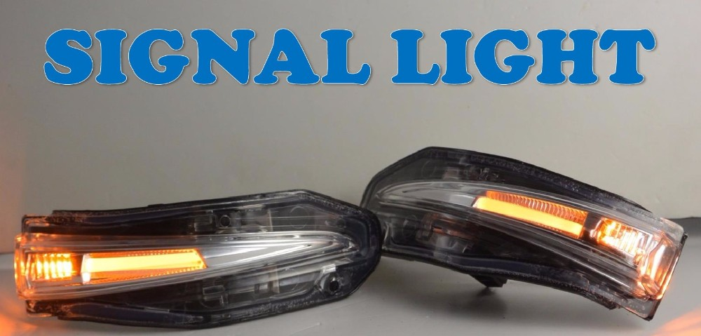 Car Refit Led Side Lamp Mirror Signal Light For Toyota Voxy - Car signal light