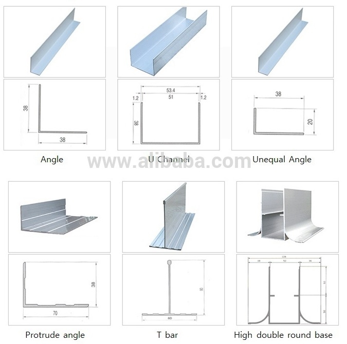 Aluminium Profile Accessories For Clean Room Buy