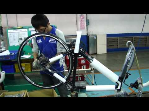 Behind the scenes at GIANT BIKES, Taiwan