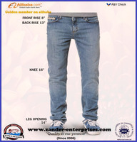 Custom design and sizing for your denim jeans production