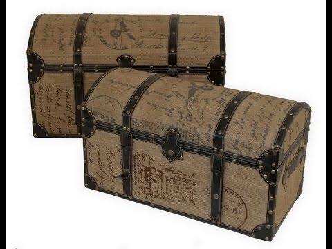 Get Quotations Decorative Trunks Storage Bo
