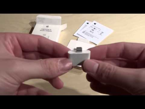 Unboxing: Apple Lightning to 30-Pin Adapter [Deutsch/ German] [Review]