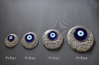 Silver Plated Wall Hanging Evil Eye