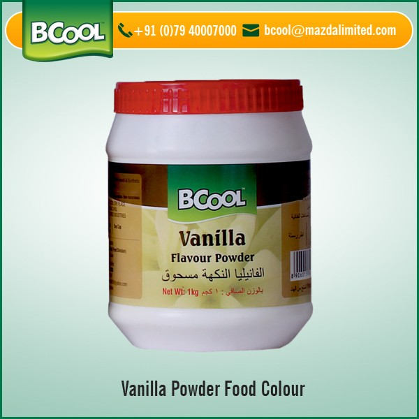 Cost Effective Vanilla Flavor Food Color Powder From Trusted ...