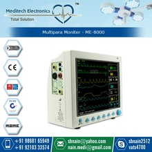 CE Approved 12.1 Inch Color Touch Screen Multi-parameter Patient Monitor