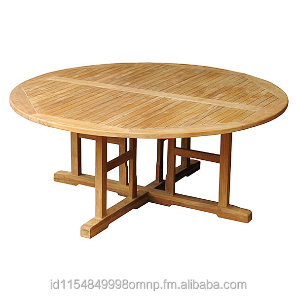 Teak Patio Round Table Jepara Indonesia
