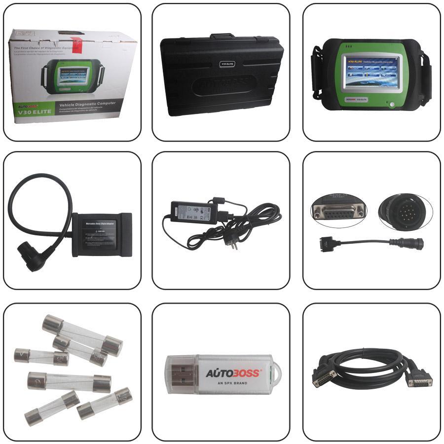 Wholesale Original AUTOBOSS V30 Elite Diagnose Scanner Update ...