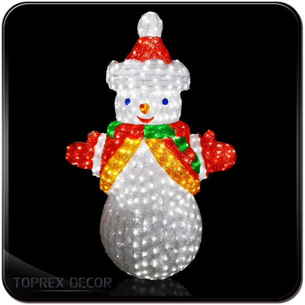 Shopping mall christmas decoration crafts animated frosty for Animated snowman decoration