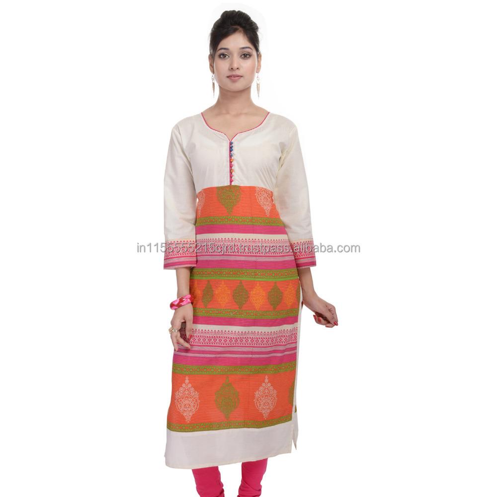 Catálogo de fabricantes de India Kurti Patrones de alta calidad y ...