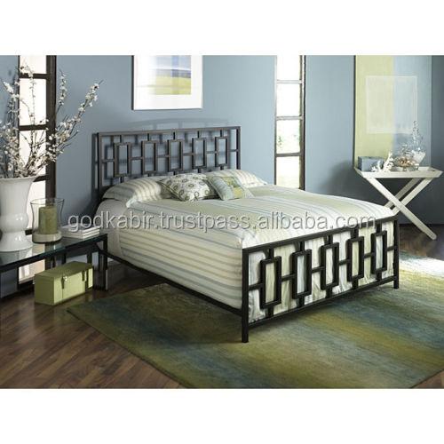 Negro Queen Size Marco De La Cama Muebles De Dormitorio/moderno ...