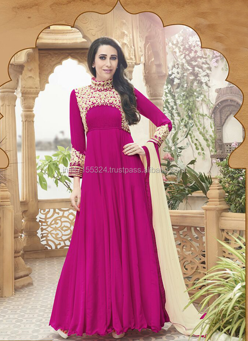 Ladies Long Evening Party Wear Gown Evening Gowns Pictures Of Latest ...