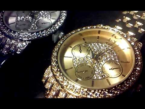 Expensive Avon Watches Silver and Gold