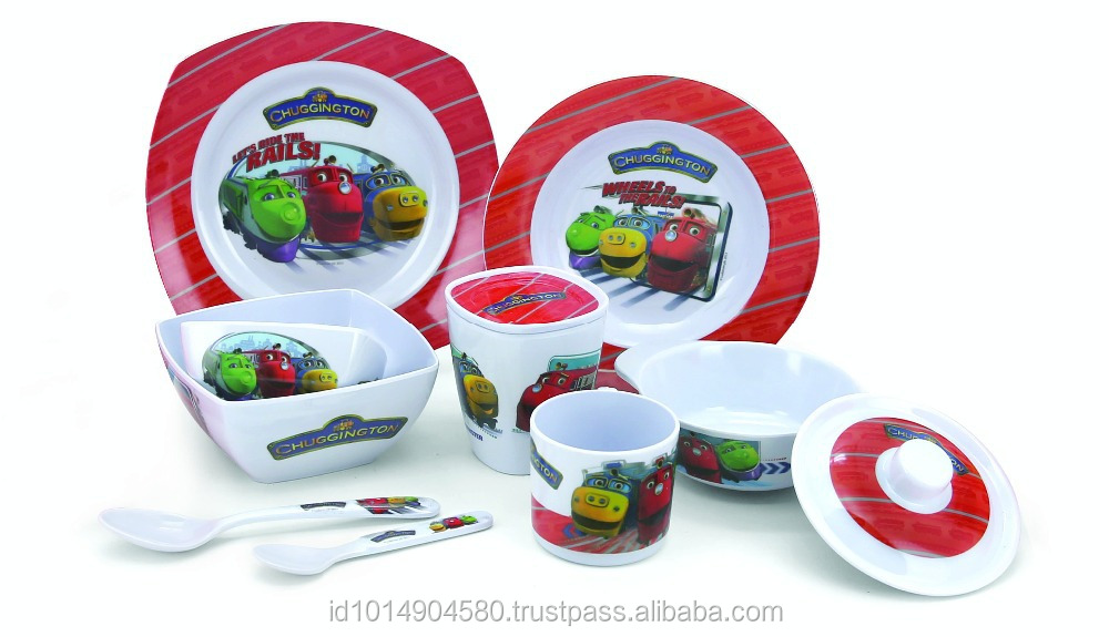 High Quality100% Food Grade Melamine Dinnerware/ Tableware/ Dishes (including Plates/ Bowl/cup) - Childrenu0027s Set- Chuggington - Buy Children Tableware ...  sc 1 st  Alibaba & High Quality100% Food Grade Melamine Dinnerware/ Tableware/ Dishes ...