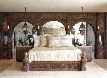 Marvelous Double Bed Designs In Wood , Wooden Carved Bed Designs , Indian Wood Double  Bed Designs