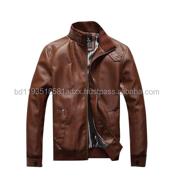 Mens Latest Leather Jacket