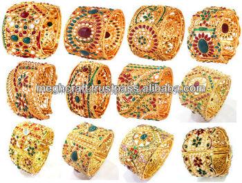 08f3fb403 Indian traditional kundan polki bangles-2015 wholesale designer bangles  bracelets kada - ladies fancy bracelets
