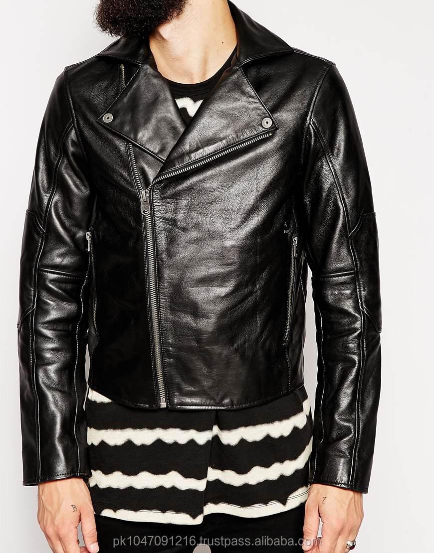 Men Leather Jacket / Genuine Leather Jacket / Sheepskin Leather ...
