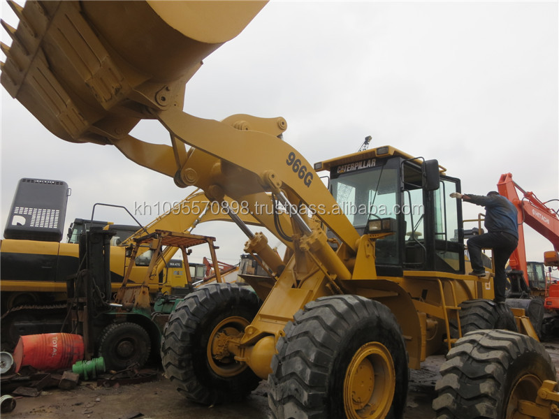 Used wheel loader CAT 966G for sale