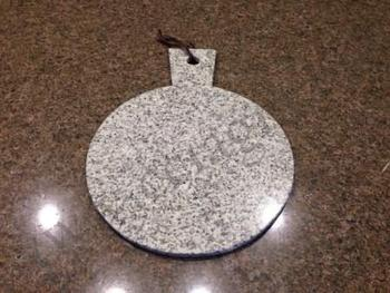 Round Granite Marble Cheese Serving Plate Chopping Block
