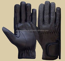 Custom Professional Leather Equestrian Horse Riding Gloves