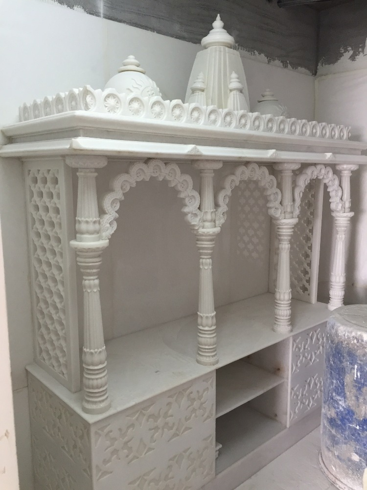 Small home decor temple natural marble small mandir buy marble home indian temple sandstone for Marble temple designs for home