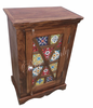 Jangid art indian sheesham wood small bedside nightstand tables for bedroom furniture