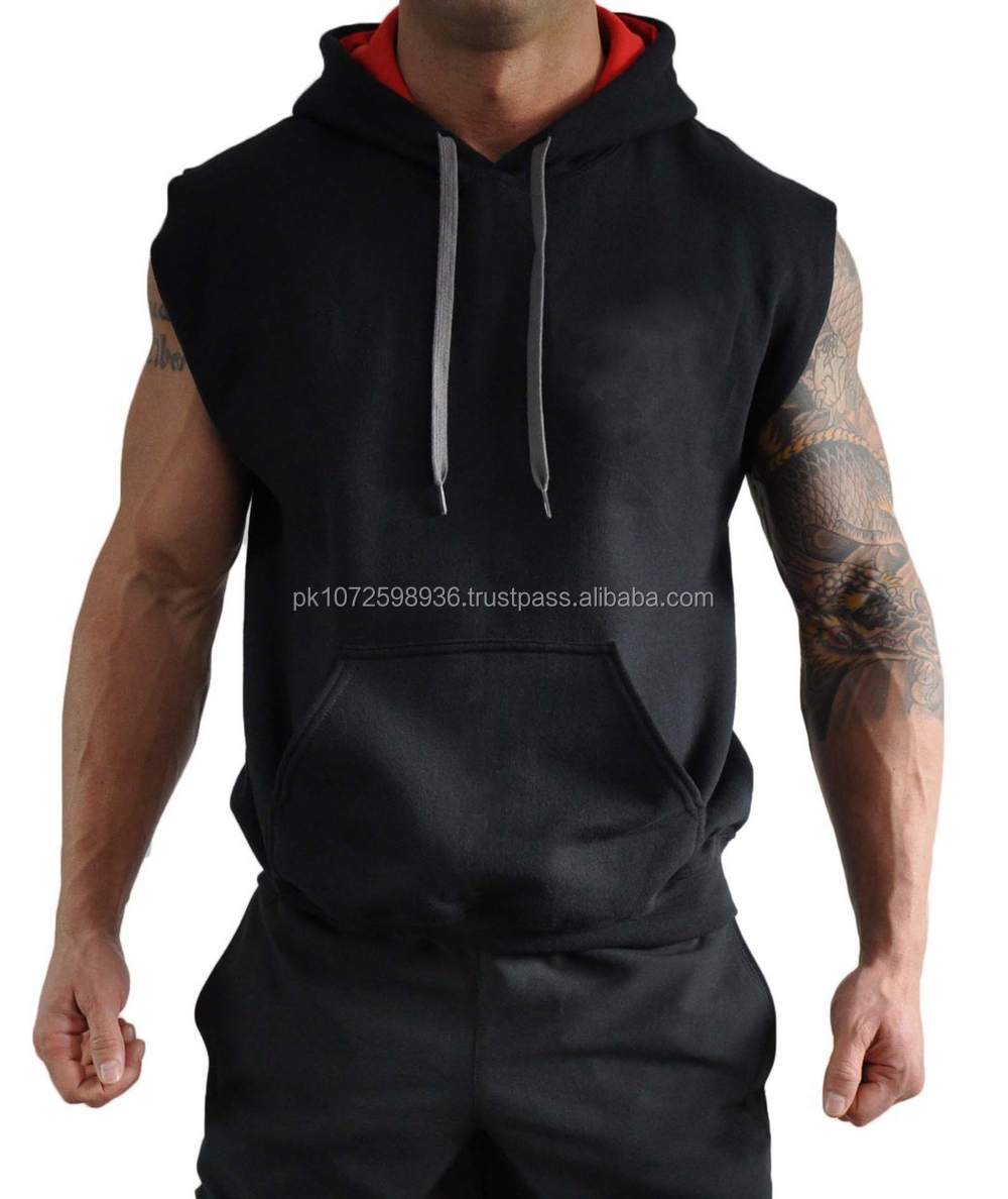 Wholesale High Quality Custom Plain Pullover Hoodie/men's Plain ...
