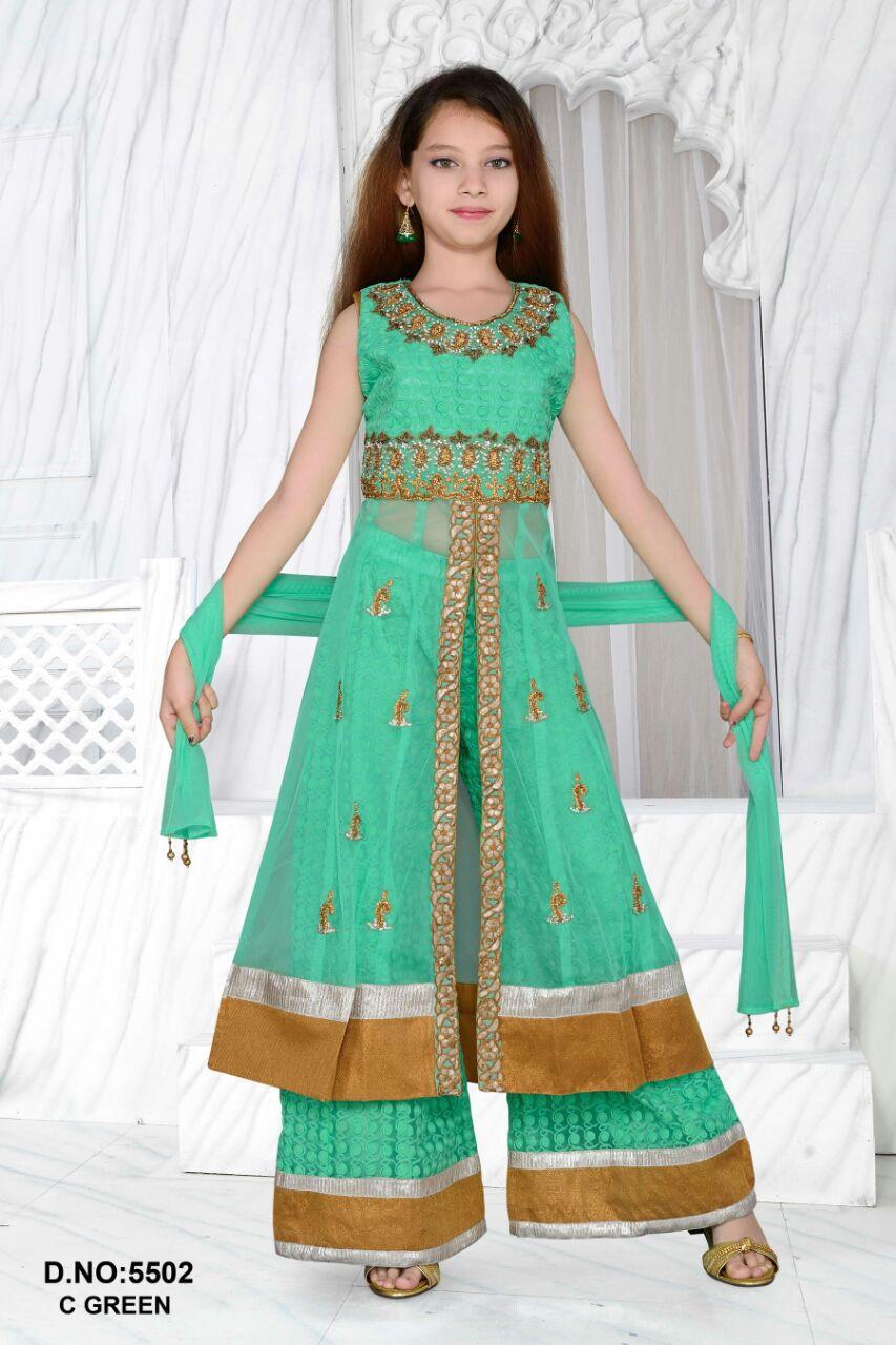 Pakistani Plazo Style Long Suits For Girls Buy Pakistani