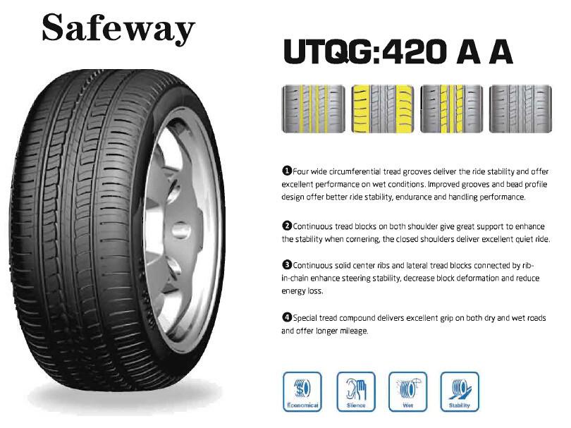 Safeway Wideway Car Tires With Dot Ece Gcc In Good Quality