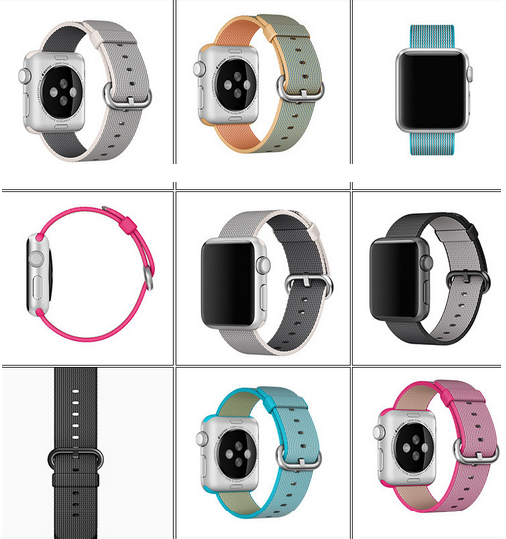 Nylon Apple Watch Band,2016 Newest Apple Watch Band,Koeok Nylon ...